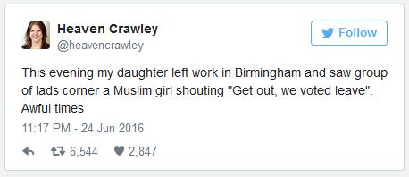 Racists in Birmingham